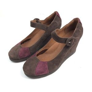 Gentle Souls Dawn & Dirty Mary Jane Wedges New